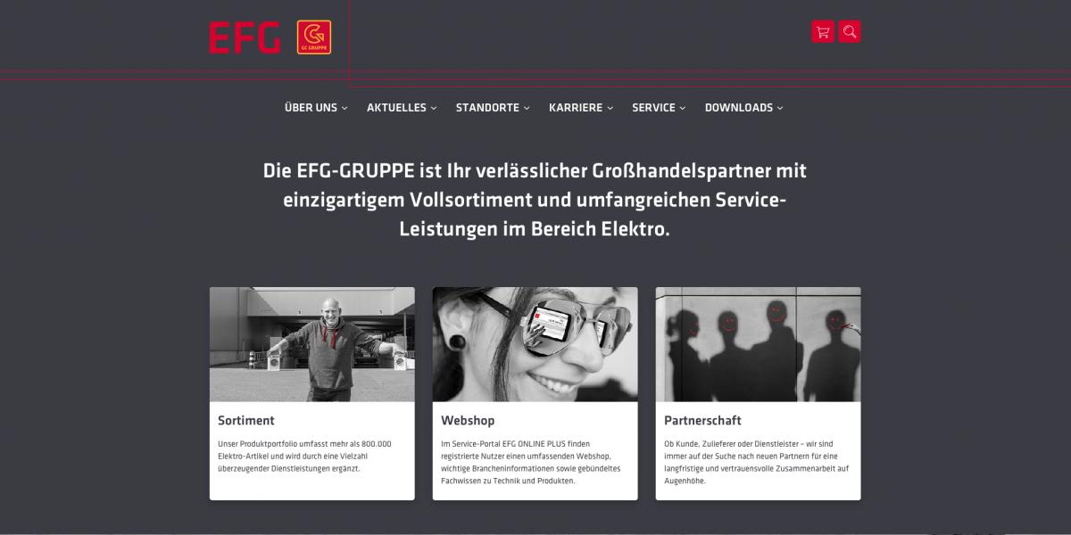 EFG-Relaunch